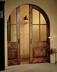 Pocket doors - brilliant -