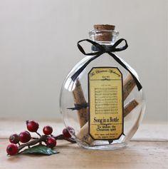 christma thing, apothecari bottl, songs, romant christma, bottles, alter bottl, note song, christma steampunk, bottl romant