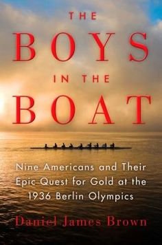 Book coming out June 4th About UW Rowing....won the 1936 Gold Medal @ Berlin Olympics