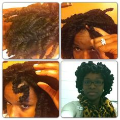 Pipe cleaner loc curls