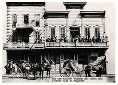 """The real Gem """"Theater"""" Saloon and brothel. Deadwood, SD"""
