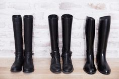 because every girl needs a pair of black riding boots in her closet