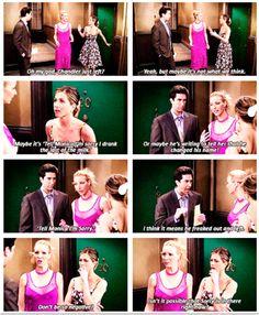 Friends Episode Chandler Wears Glasses
