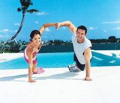 Team up to slim down: Couples work-out