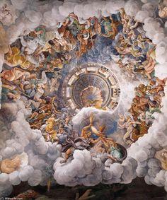 Dirigindo-se à assembléia, Júpiter expôs as terríveis condições que reinavam na Terra e encerrou as suas palavras anunciando a intenção de destruir todos os seus habitantes e fazer surgir uma nova raça, diferente da primeira, que seria mais digna de viver e saberia melhor cultuar os deuses, apoderou-se de um raio e já estava prestes a atirá-lo contra o mundo, destruindo-o pelo fogo, quando atentou para o perigo que o incêndio poderia acarretar para o próprio céu.
