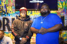 Dough From Da Go and Dj Mil Ticket @ the #DefJam #Undisputed Docuseries Viewing & Listening Session Held @ Drink Haus Chicago