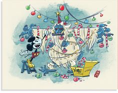 D23.com | The Official Disney Fan Club | 23 Days of Christmas | expedition everest christmas | mickey mouse christmas