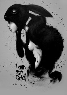Bold black & whites by sit, an Artist from the Netherlands.