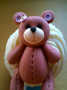 Teddy Bear Cupcake