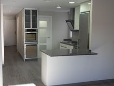 Reforma y mobiliario cocina diseño en Zaragoza. Zarareformas