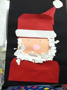 tear art Santa