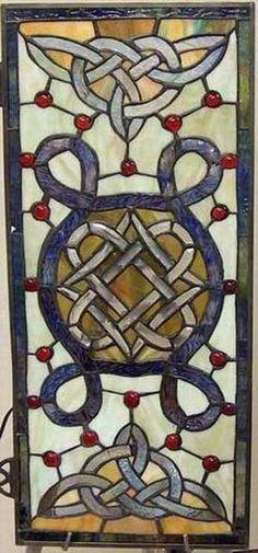 Celtic glass design