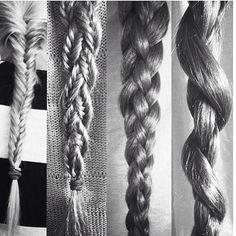 BRAIDS hair braid, braid hairstyl, makeup, braid braid, plait, hair envi, braids, beauti, hair style