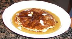 Old-Fashioned Sourdough Pancakes   http://whatscookingamerica.net/Bread/SourdoughPancakes.htm