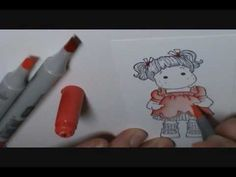 Copic Tutorial #2 Colorless Blender - YouTube
