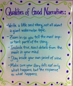 Examples Of Good Narrative Essays