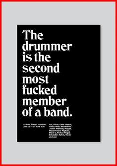 not the bass player?