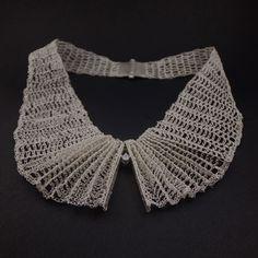 Necklace | Jolanta Gazda.  wonderful wire crochet!
