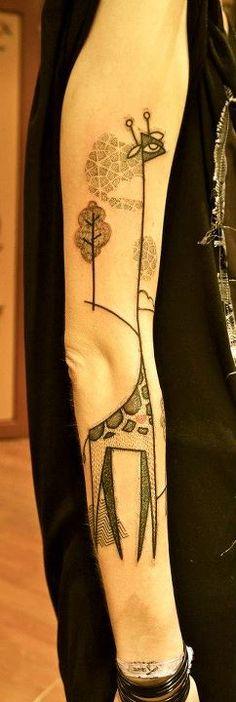 bodi, pierc, tattoos, art, noon tattoo, giraff tattoo, noon tatoo, ink, giraffes