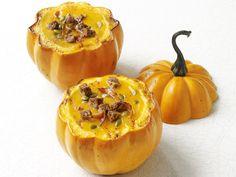 Squash Soup in Pumpkin Bowls #FNMag