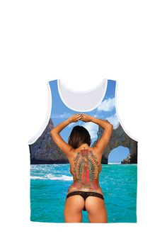 Cabo Tank | PenthouseStore.com - Online Shopping for Lingerie, Shoes, Apparel & more