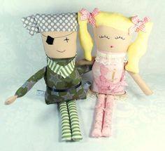 Unique soft dolls live down Cherry Blossom Lane