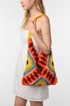 UrbanOutfitters.com > Tallow Crochet Tote Bag