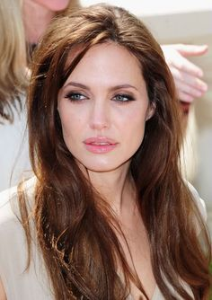 Angelina Jolie hair.  So pretty