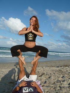 Partner Yoga On Pinterest Partner Yoga Partner Yoga