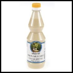 Dijon Mustard Vinaigrette - France.  Serves as a delicious side dressing for chicken or splash it over a fresh spinach and pear salad. - $4.25 (16.9 oz)