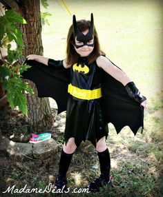 It's a Bird, It's a Plane, It's an awesome Bat Girl Costume from BuyCostumes.com!