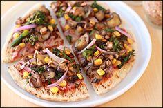 Hungry Girl's SoCal Veggie Pizza