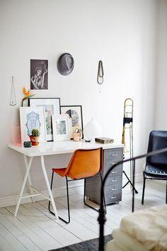 nice desk #working #interior #workspace #studio #homeoffice