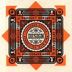 Designspiration — Facebook Design Coasters | The Graphic Works of Ben Barry