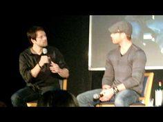 125-  Jensen and Misha entrance & Misha first impression of Jensen & Jared