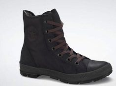 $84.99 Converse Chuck Taylor All Star Outsider Pad Hi Top Beluga Black 125741C men's 9.5/ women's 11.5 - High top boots that keep low temps out. Padded collar for warmth and support. Lugged outsole for durability. http://www.amazon.com/dp/B0069V7598/?tag=icypnt-20