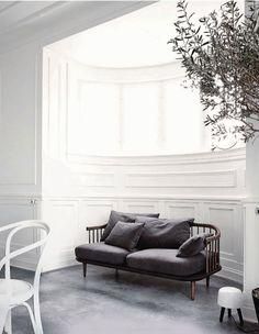 interior, de madeira, bench, cushion, nook, estrutura de, window seats, live area, design