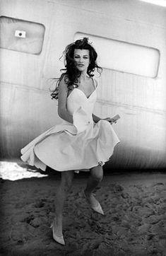 Milla Jovovich Young