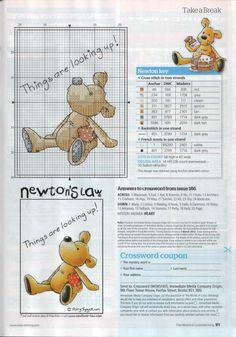 Newton 1. Stitch count 58 high x 43 wide.