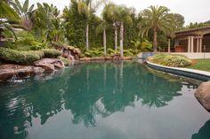 Beverly Hills Home - backyard swimming pool