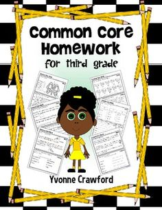 Common Core Homework for Third Grade $