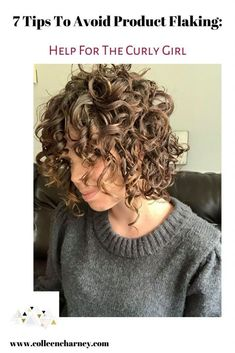 7 Tips To Avoid Product Flaking: Help For The Curly Girl | Colleen Charney