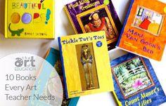 10 books every art teacher needs