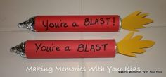 you're a blast! valentines day