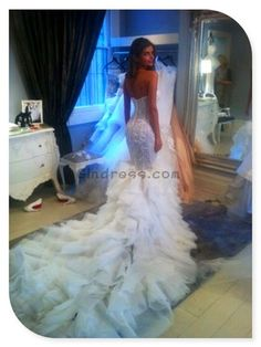 mermaid wedding dress mermaid wedding dresses LOVE