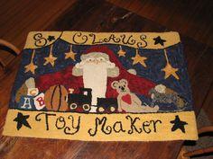 """Meet """"S.Claus ~ Toymaker"""" season rughook"""