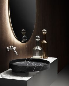 ECCENTRICO | Marble washbasin Eccentrico Collection By FALPER design Victor Vasilev