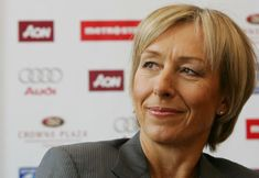 Martina Navratilova...great tennis star