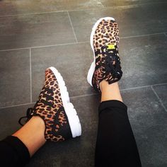 Love of my life omg leopard shoes