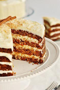 Hawaiian Cream Cheese Carrot Cake